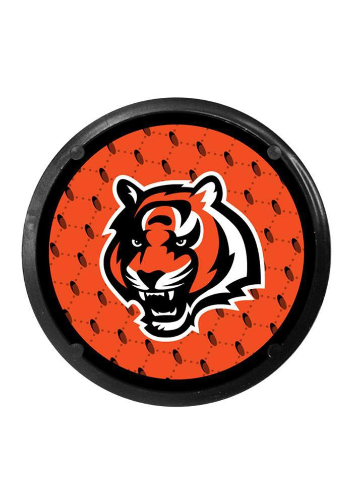 Cincinnati Bengals 2pk Air Freshener Car Coaster - Orange - Image 1