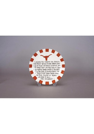 Texas Longhorns Definition Round Plate