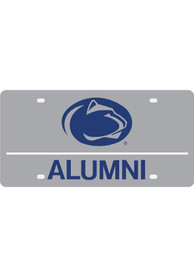 Penn State Nittany Lions Silver Alumni Car Accessory License Plate