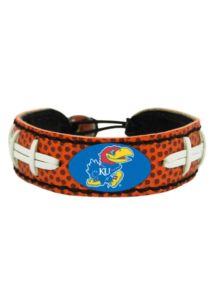 Kansas Jayhawks Football Bracelet - Brown