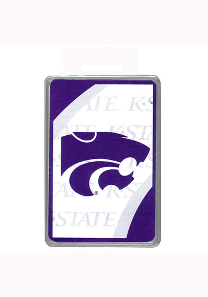K-State Wildcats Vortex Playing Cards - Image 1