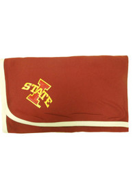 Iowa State Cyclones Baby Knit Blanket - Cardinal