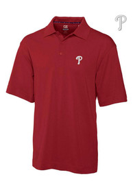 Philadelphia Phillies Cutter and Buck Championship Polo Shirt - Red
