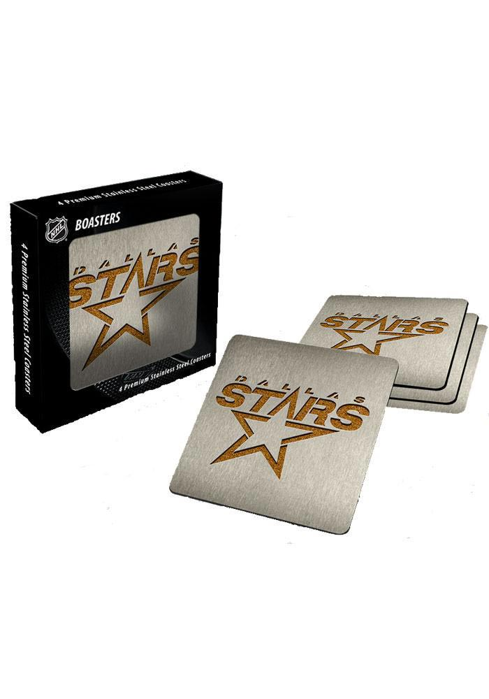 Dallas Stars 4pk Stainless Steel Coaster - Image 1