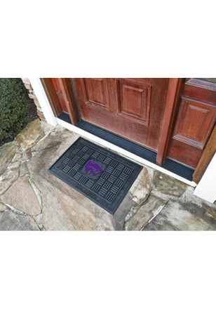 K-State Wildcats Black Door Mat