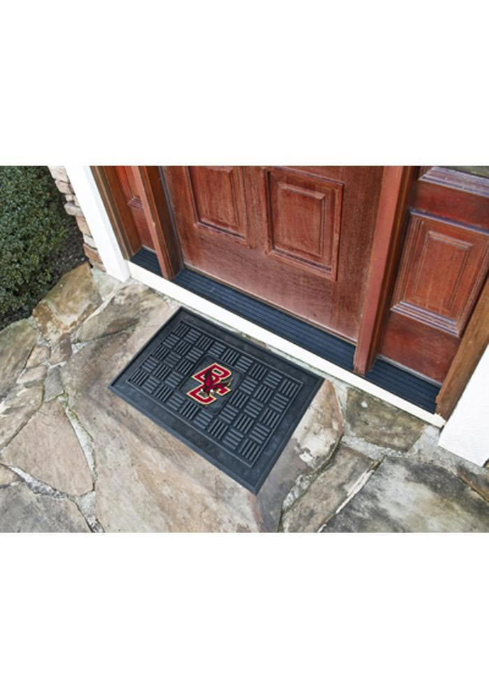 Washington State Cougars Black Vinyl Door Mat - Image 1