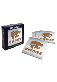 K-State Wildcats 4pk Stainless Steel Coaster