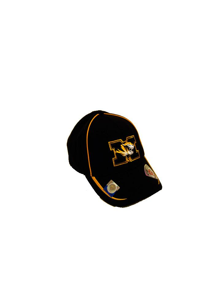 Top of the World Mizzou Tigers BlackYouth Fitted Hat 14481859