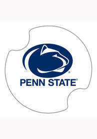 Penn State Nittany Lions 2 Pack Car Coaster - White