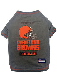 Cleveland Browns Team Logo Pet T-Shirt