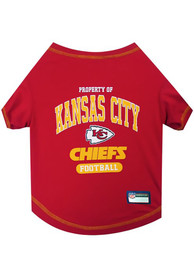 Kansas City Chiefs Team Logo Pet T-Shirt
