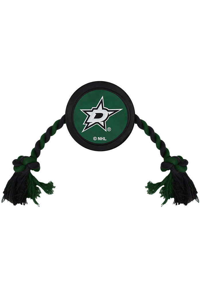 Dallas Stars Hockey Puck Pet Toy - Image 1