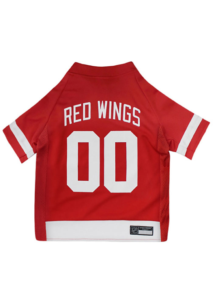 Detroit Red Wings Team Color Pet Jersey - Image 1