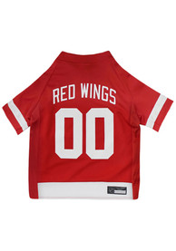 Detroit Red Wings Team Color Pet Jersey