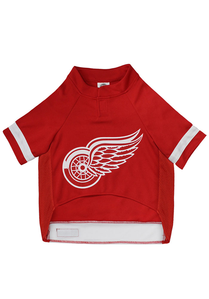 Detroit Red Wings Team Color Pet Jersey - Image 2