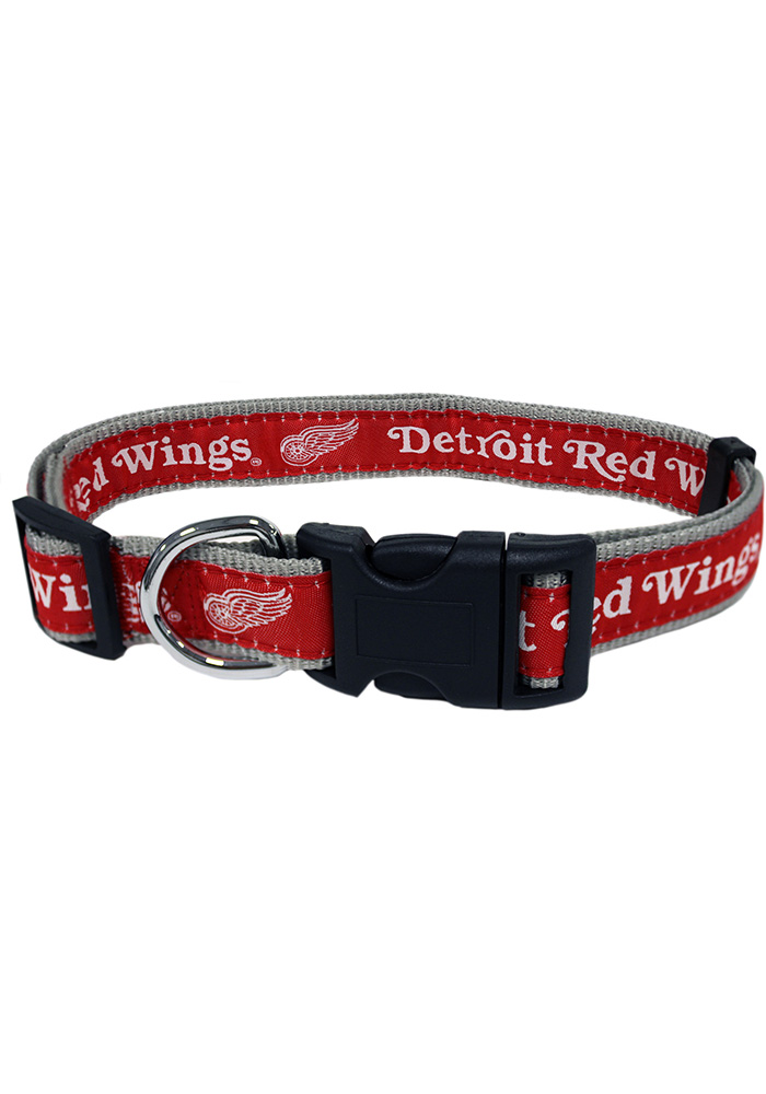 Detroit Red Wings Adjustable Pet Collar - Image 1