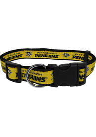 Pittsburgh Penguins Adjustable Pet Collar