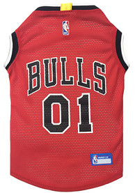 Chicago Bulls Basketball Pet Jersey