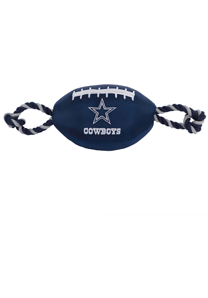Dallas Cowboys Football Rope Pet Toy - Image 1