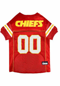 Kansas City Chiefs Football Pet Jersey