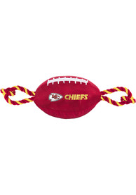 Kansas City Chiefs Football Rope Pet Toy