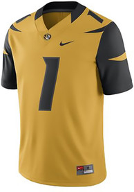 best sneakers 39bb0 d864c Nike Missouri Tigers Gold Game Jersey