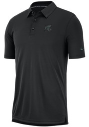 Nike Michigan State Spartans Mens Black Col M NK Polo Short Sleeve Polo