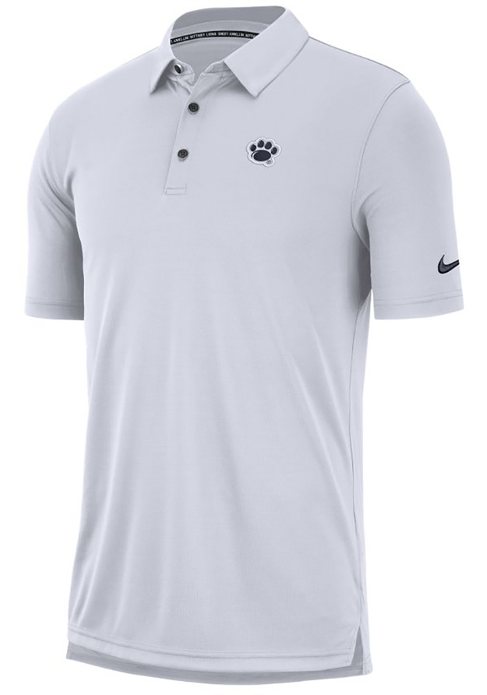Nike Penn State Nittany Lions Mens White Col M NK Polo Short Sleeve Polo - Image 1