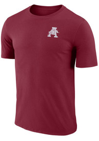 Arkansas Razorbacks Crew Stadium T Shirt - Crimson