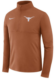 Texas Longhorns Nike Core 1/4 Zip Pullover - Burnt Orange