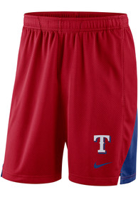 Nike Texas Rangers Red Dry Franchise Shorts