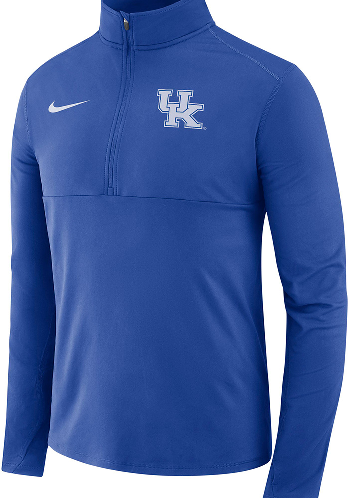 Nike Kentucky Wildcats Mens Blue College Core 1/4 Zip Pullover