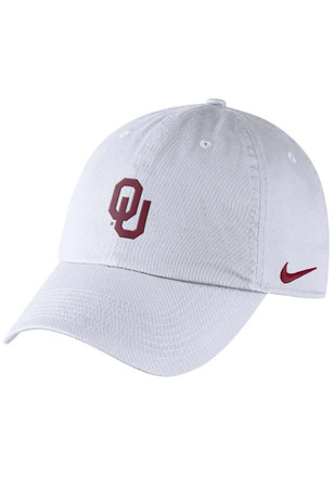 Nike Oklahoma Sooners White DF H86 Authentic Adjustable Hat 380aa57c9207