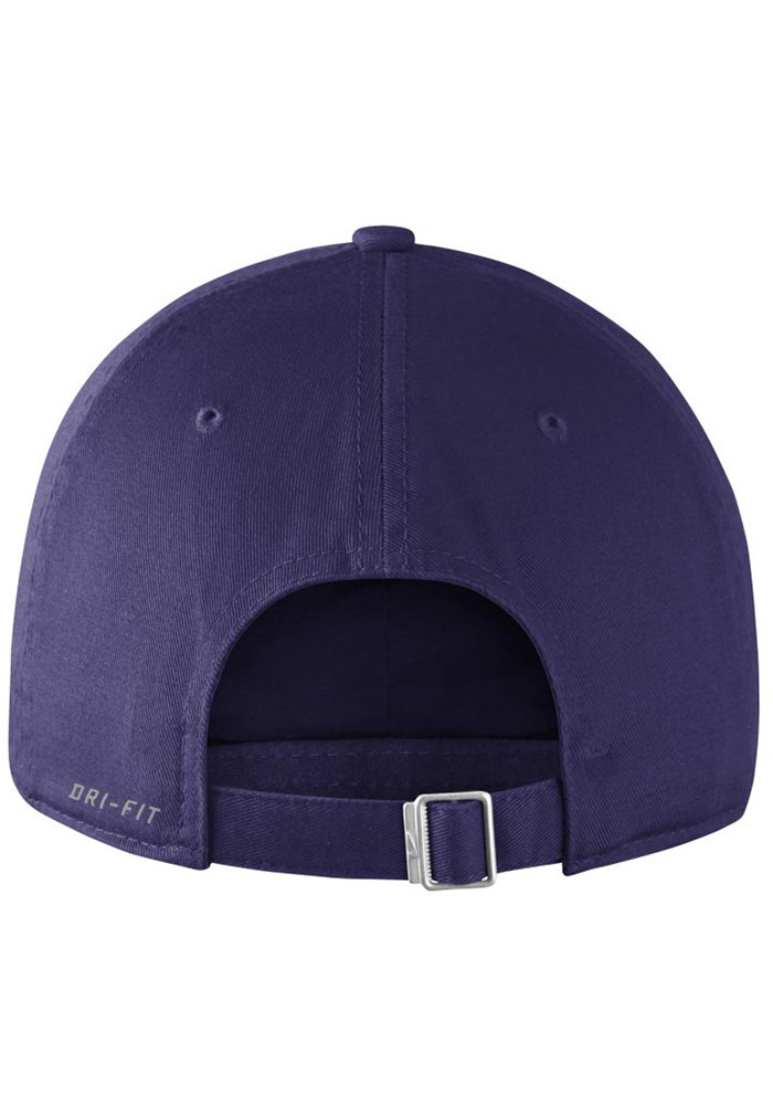 Nike TCU Horned Frogs Vintage DF H86 Authentic Adjustable Hat - Purple - Image 2