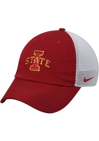size 40 982e0 f26d2 Nike Iowa State Cyclones H86 Trucker Adjustable Hat - Crimson