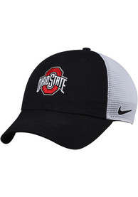 sports shoes d6508 5bbe6 Nike Ohio State Buckeyes H86 Trucker Adjustable Hat - Black
