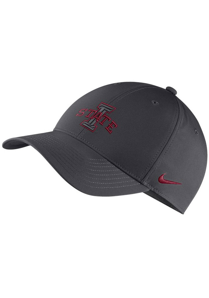 sports shoes d2ad4 92f14 ... where to buy nike iowa state cyclones mens grey dri fit l91 adjustable  hat image 1