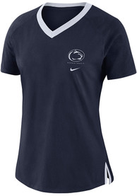 Penn State Nittany Lions Womens Nike Basketball Fan T-Shirt - Navy Blue