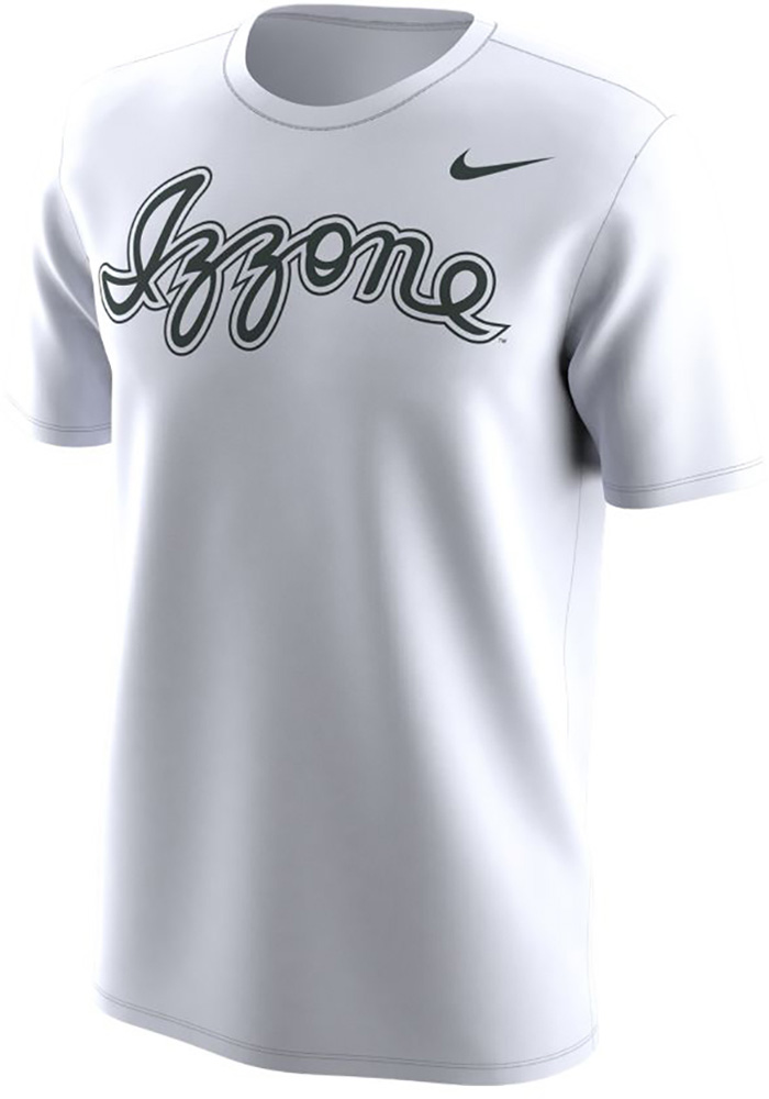 Nike Michigan State Spartans White Sparty Short Sleeve T Shirt - Image 1