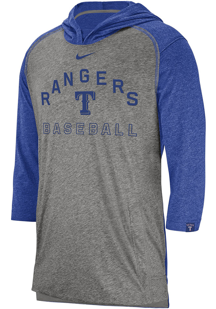 NEW ARRIVALS AT THIS STORE. Nike Texas Rangers Flux Grey Fashion Hood 7361fd513