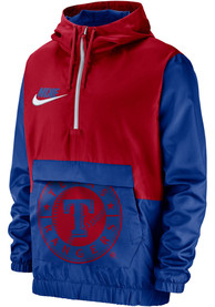 Texas Rangers Nike Anorak Light Weight Jacket - Red