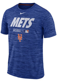 New York Mets Nike AC Velocity Team Issue T Shirt - Blue