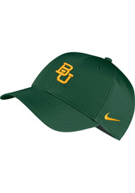 Baylor Bears Nike Dri-Fit L91 Adjustable Hat - Green