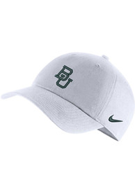 Baylor Bears Nike H86 Logo Adjustable Hat - White