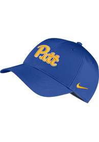 Pitt Panthers Nike Dri-Fit L91 Adjustable Hat - Blue
