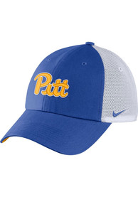Pitt Panthers Nike H86 Trucker Adjustable Hat - Blue