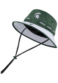 Michigan State Spartans Nike 2020 Sideline Dri-Fit Bucket Hat - Green