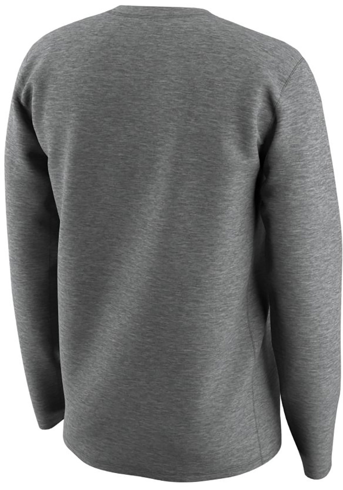 Nike Penn State Nittany Lions Grey Logo Performance Long Sleeve T-Shirt - Image 2