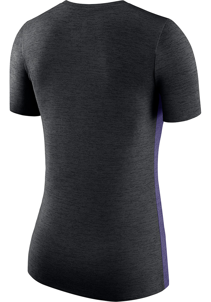 Nike K-State Wildcats Womens Purple Touch T-Shirt - Image 2