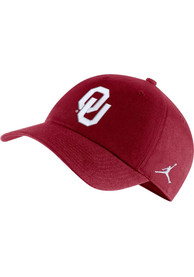 Oklahoma Sooners Nike Jordan H86 Logo Adjustable Hat - Crimson